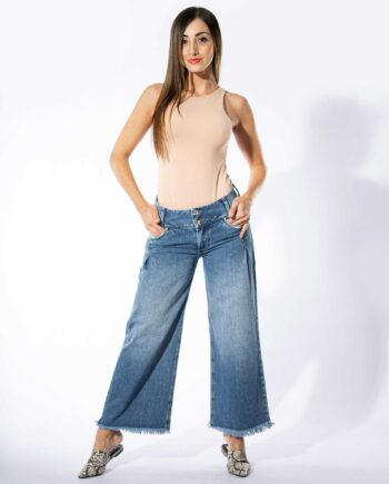 Jean Flare Cropped